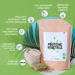 proteine vegetale en poudre