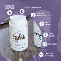 les avantages de la rhodiola + safran